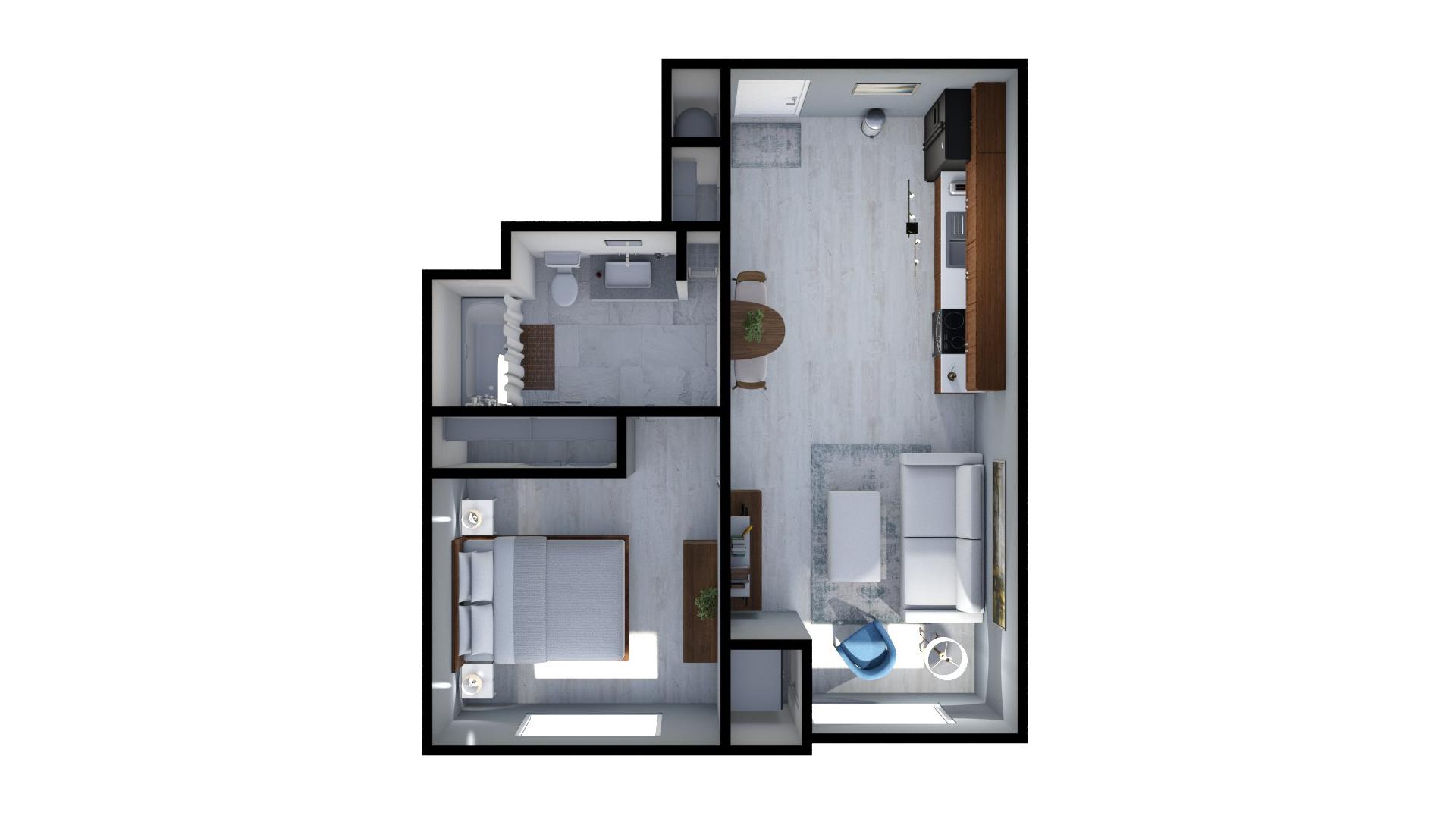 Floor plan rendering: The Julia